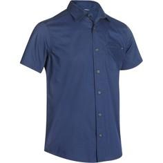 Мужская Рубашка С Короткими Рукавами Для Походов Arpenaz 100 Quechua
