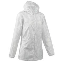Водонепроницаемая Женская Куртка-дождевик На Молнии Для Пеших Походов Raincut Quechua