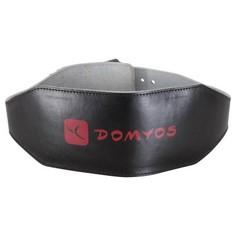 Пояс На Поясницу Для Силовых Тренировок - Кожа Domyos
