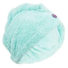Мягкое Полотенце Для Волос Из Микрофибры - Голубое/зелёное Nabaiji
