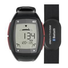 Часы-кардиометр Onrhythm 500 С Кардиопоясом Bluetooth - Красные Geonaute