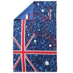 Ультракомпактное Полотенце Из Микрофибры С Рисунком Размер L 110x175 См Nabaiji