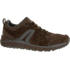 Мужская Обувь Для Спортивной Ходьбы Hw 540 Кожаная Коричневая Newfeel