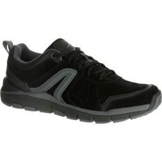 Мужская Обувь Для Спортивной Ходьбы Hw 540 Кожаная Черная Newfeel