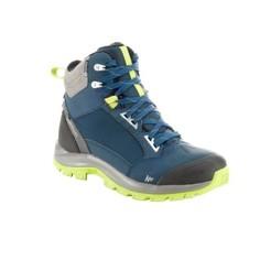Ботинки Для Зим. Походов Муж. Sh500 Active, Теплые И Водонепр., Цвет Зеленый Quechua