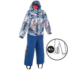 Лыжный Комбинезон 300 Pullnfit Для Детей «синий Робот» Wedze