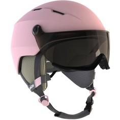 Горнолыжный Шлем Для Взрослых H 350 Розового Цвета. Wedze