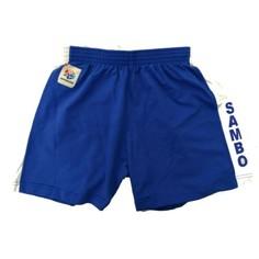 Шорты Самбо Взрослые Синие No Brand