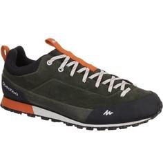 Кожаная Мужская Обувь Для Походов Arpenaz 500 Quechua