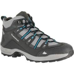 Мужские Водонепроницаемые Ботинки Для Пеших Прогулок Quechua Arpenaz 100 Mid