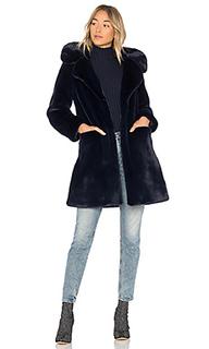 Пальто из искусственного меха buckled - 5149