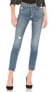 Джинсы скинни с высокой посадкой jeans - GRLFRND