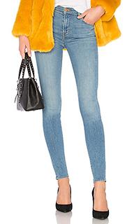 Узкие джинсы высокой посадки maria - J Brand
