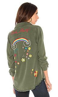 Рубашка с застёжкой на пуговицах sloane - Lauren Moshi