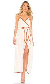 Макси платье с разрезом 531 - LPA