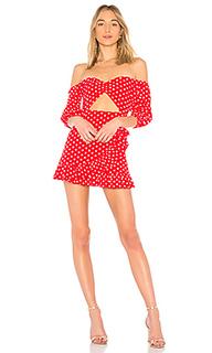 Платье с длинным рукавом michelle - MAJORELLE