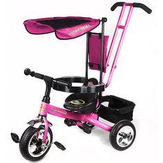 Super Trike Детский трехколесный велосипед, розовый