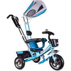 """Трехколесный велосипед """"Бронз Люкс"""", голубой, Zilmer"""