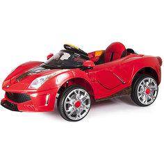 """Электромобиль """"Суперавто-116"""", р/у, 2- скоростной, эко-кожа, со светом и звуком, Zilmer"""