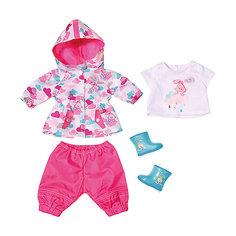 """Одежда для куклы Zapf Creation """"Baby Born"""" Для дождливой погоды"""