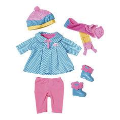 """Одежда для куклы Zapf Creation """"Baby Born"""" Одежда для прохладной погоды, 6 предметов"""