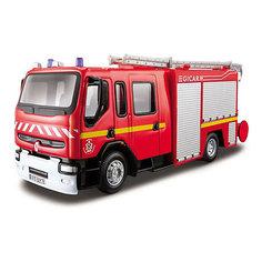 """Пожарная машинка Bburago """"Renault Premium"""", 1:50"""