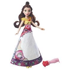 """Кукла Hasbro Disney Princess """"Принцесса в юбке с проявляющимся принтом"""", Белль"""