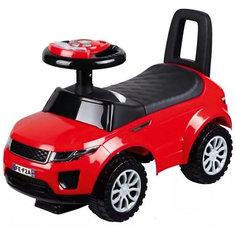 Машина-каталка Bugati с музыкой и светом, красная