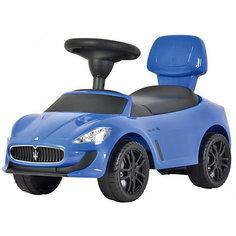 """Машина-каталка Bugati """"Maserati"""", синяя"""