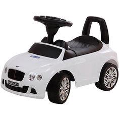 """Машина-каталка Bugati """"Bentley"""", белая"""