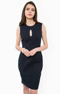 Облегающее платье синего цвета Kocca