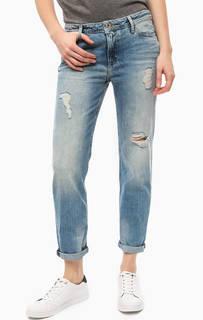 Синие рваные джинсы с пятью карманами Hilfiger Denim