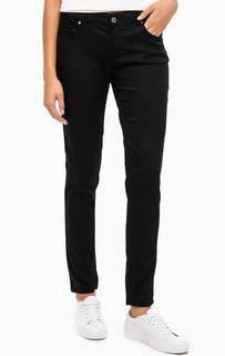 Зауженные черные брюки с пятью карманами Blue Seven