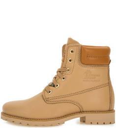 Демисезонные ботинки из натуральной кожи Panama Jack
