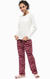 Комплект из футболки и брюк из хлопка Calvin Klein