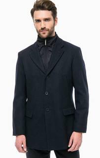 Демисезонное пальто с ветрозащитной планкой Lion OF Porches