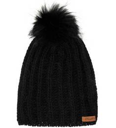 Черная шапка с помпоном Noryalli