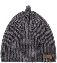 Серая шапка крупной вязки Noryalli