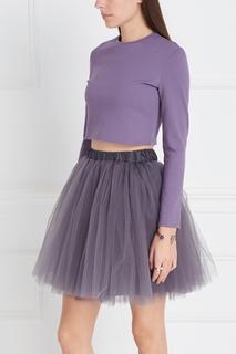 Кроп-топ фиолетовый T Skirt