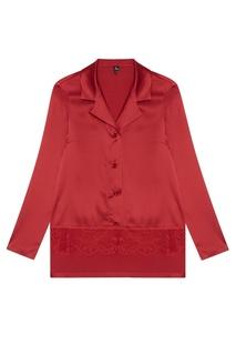 Шелковая красная пижама Nu Code