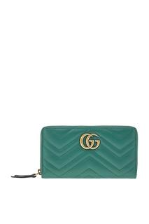 Кожаный кошелек GG Marmont Gucci