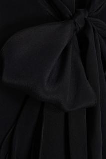 Черное платье с комбинацией See By Chloé