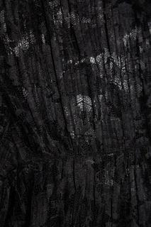 Платье из черного гипюра See By Chloé