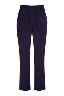 Синие брюки с карманами See By Chloé