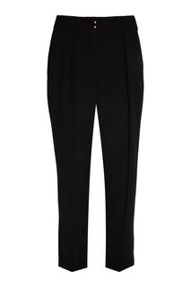 Черные брюки со складками See By Chloé