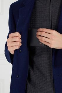 Серый кожаный кошелек Man Marte Furla