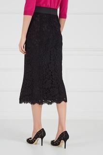 Кружевная юбка-карандаш Dolce & Gabbana