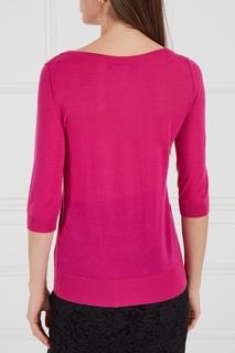 Розовый кашемировый джемпер Dolce & Gabbana