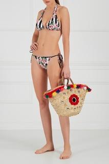 Плетеная сумка-корзинка Naca Medium Micaela Spadoni