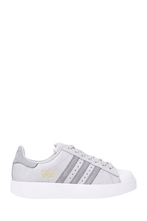 Серые кеды Superstar Bold W Adidas
